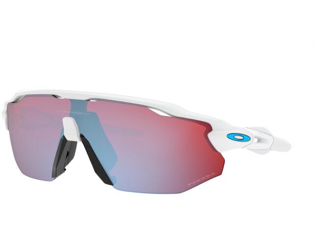 Oakley Radar EV Advancer Brillenglas, polished white/prizm snow sapphire
